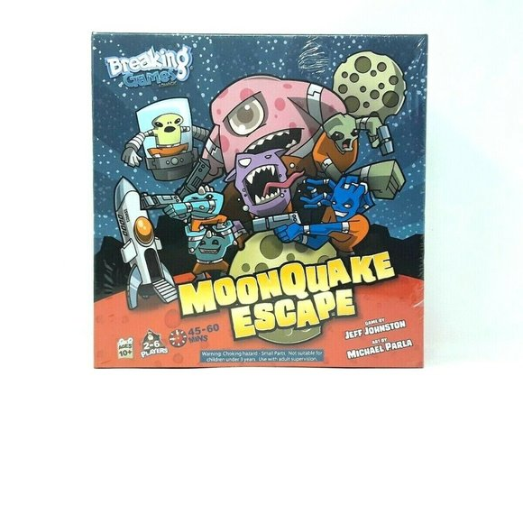 Breaking Games Other - Moonquake Escape Board Game Breaking Games Toys